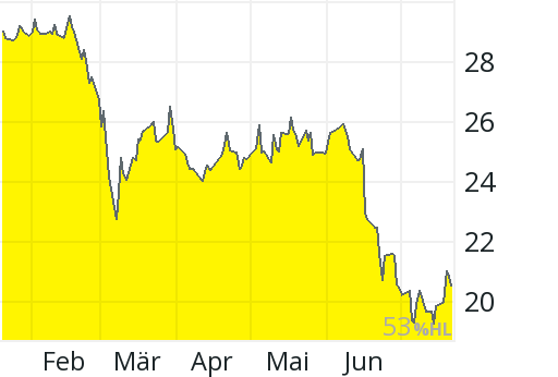 Evonik Aktienkurs